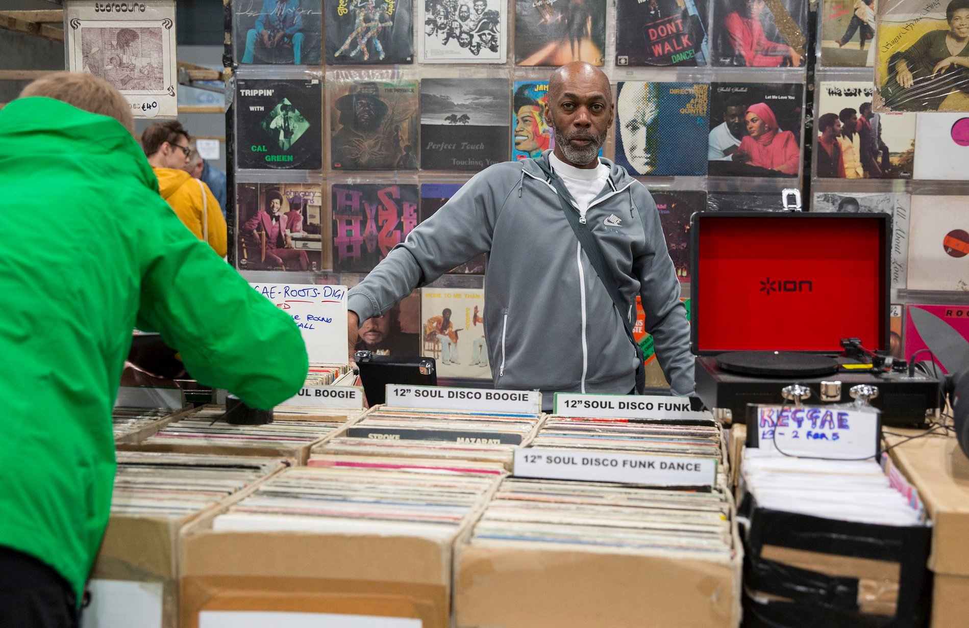 LGW21 to coincide with Mega Record & CD Fair, Europe's biggest record fair, 13 & 14 November in Utrecht