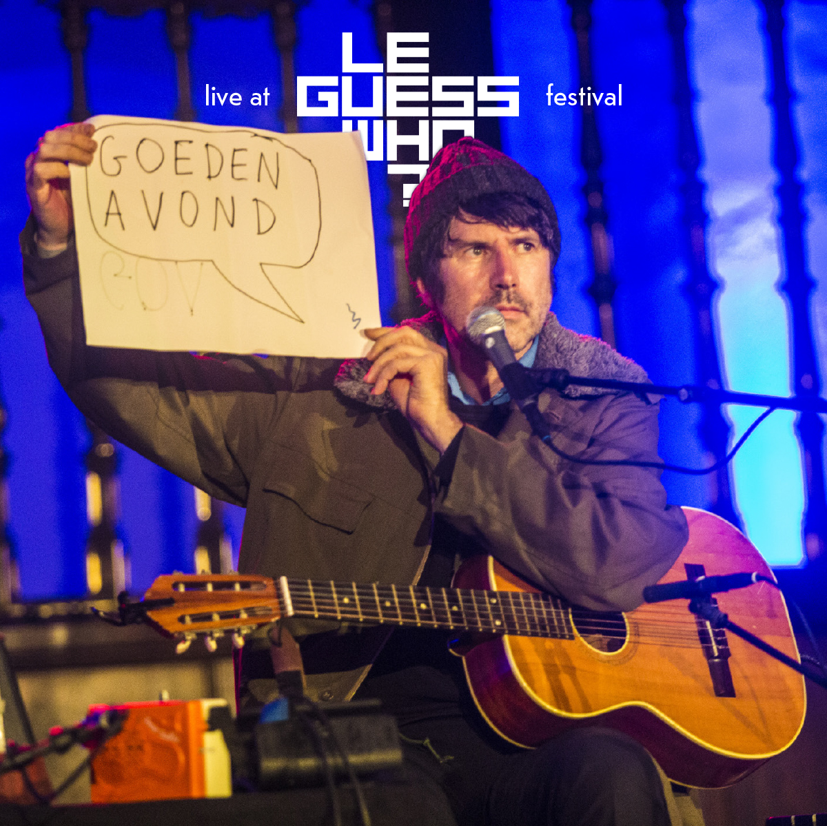 Listen to Gruff Rhys' full surprise performance at LGW17, via The Line of Best Fit
