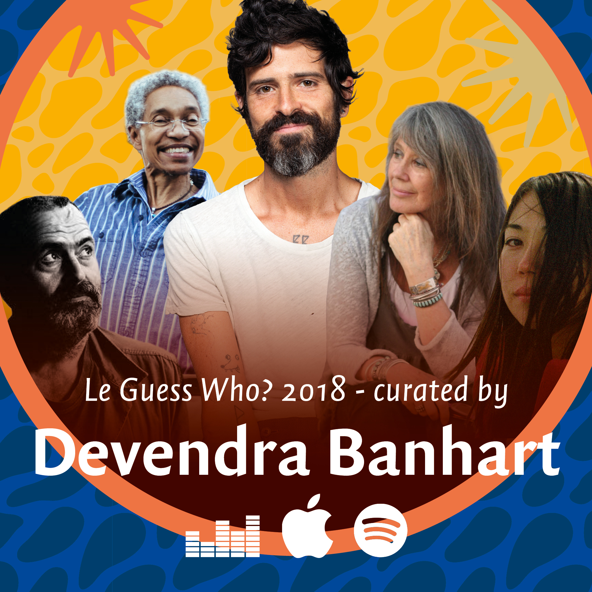 Listen to Devendra Banhart's personal playlist for his curated program at LGW18
