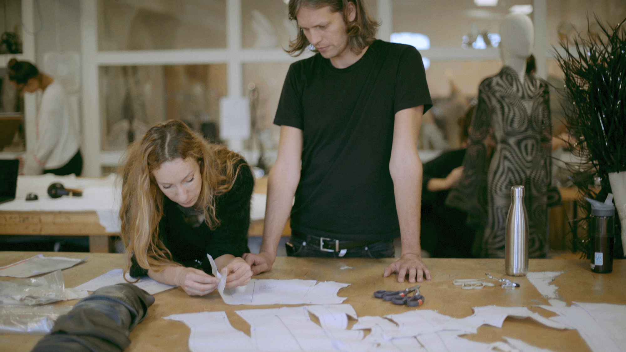 Watch: LGW x Dazed video portrait: In The Studio with Iris van Herpen & Salvador Breed