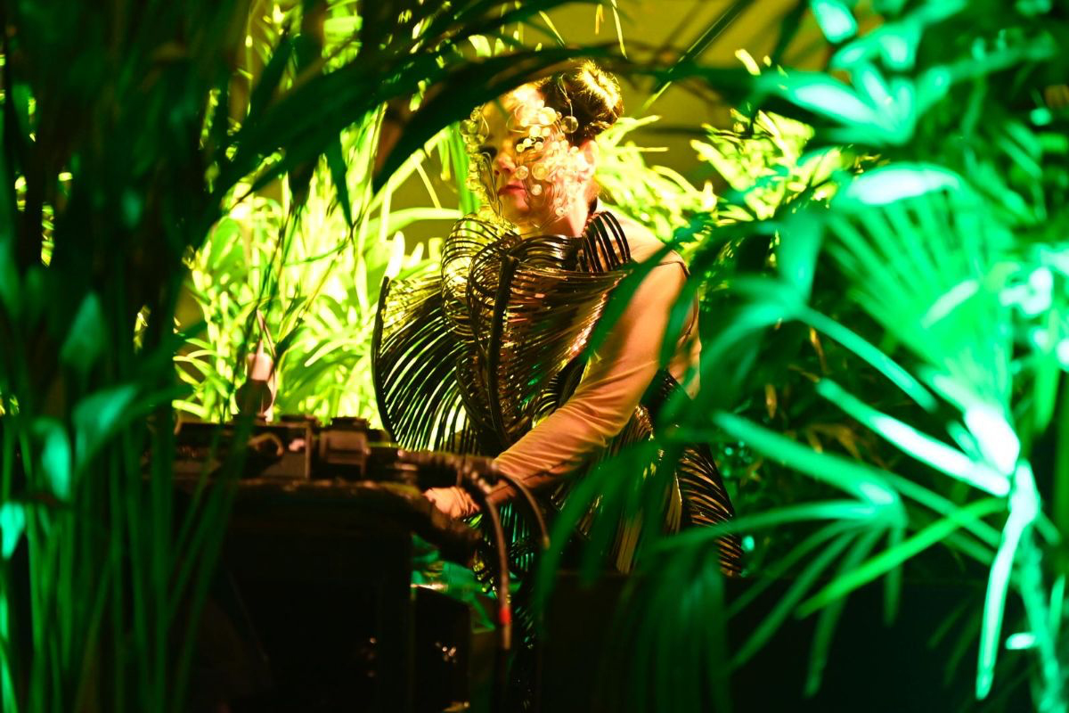 Watch: Björk plays surprise DJ set at Le Guess Who? 2019