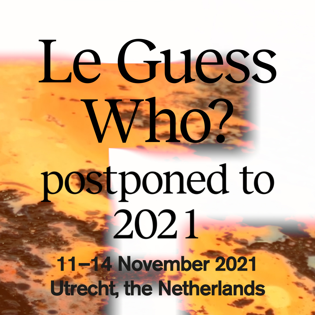 Le Guess Who? 2020 postponed to 2021