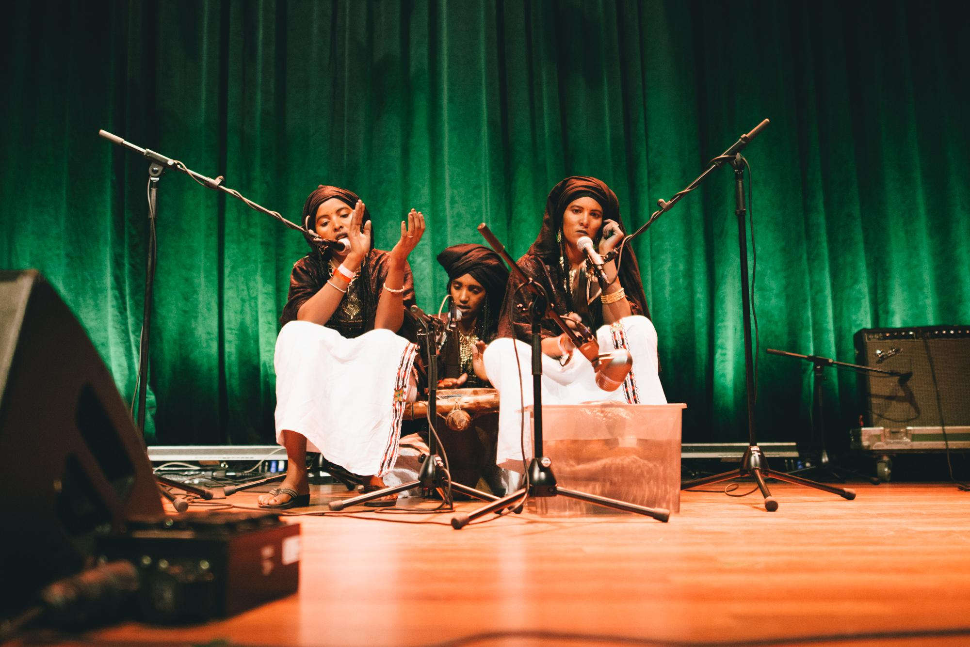 Listen: Pan African Music premieres the recordings of Les Filles de Illighadad at Le Guess Who? 2016