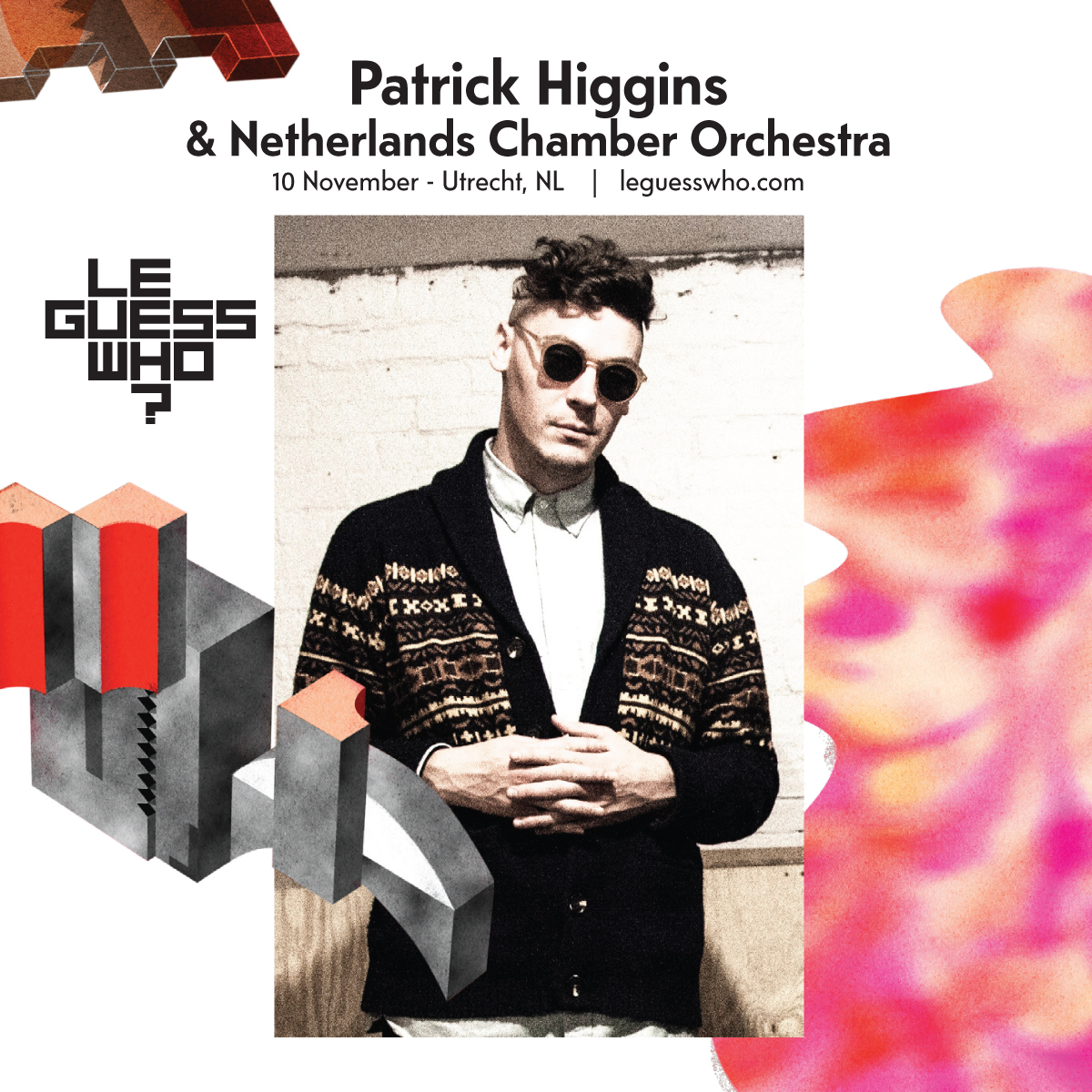 Meet avant-garde guitarist/composer Patrick Higgins, live with Netherlands Chamber Orchestra