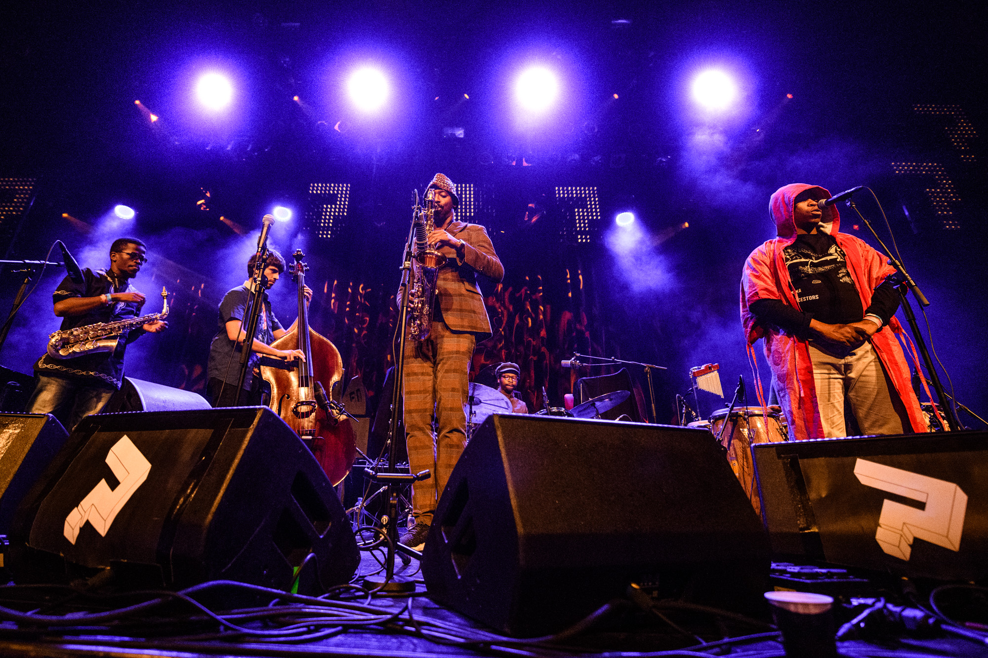 Listen to Shabaka & The Ancestors' powerful performance at LGW17, curated by James Holden