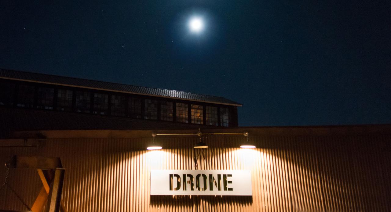 Basilica Hudson & LGW announce 24-Hour Drone line-up